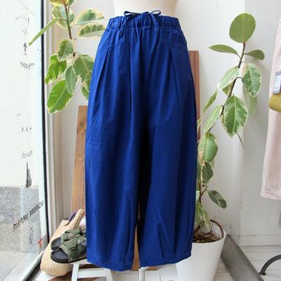 (lady's) Hunch / ハンチ サーカスパンツ blue (Lbt047)