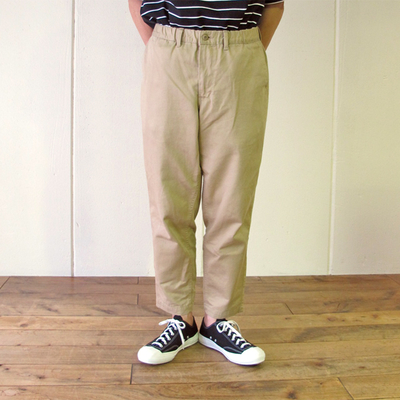 (men's) BETTY SMITH / ベティスミス EASY WIDE CHINO beige (mbt012)