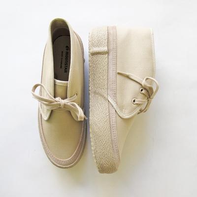 (lady's) moonSTAR FINE VULCANIZED / ムーンスター ファインヴァルカナイズ SLOTH beige (Lsho034)
