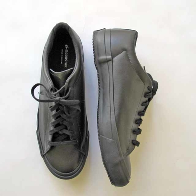 (men's) moonSTAR FINE VULCANIZED / ムーンスター ファインヴァルカナイズ PLAIN COURT black (msho040)