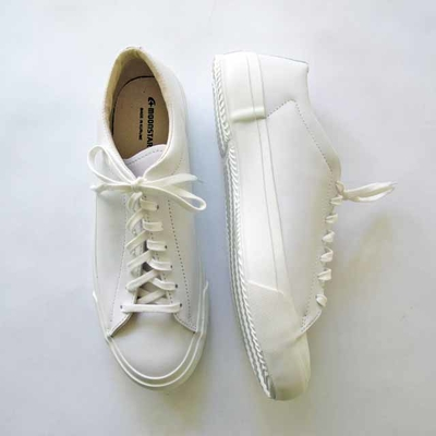 (men's) moonSTAR FINE VULCANIZED / ムーンスター ファインヴァルカナイズ PLAIN COURT white (msho041)