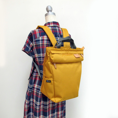 (lady's) リセスタイルリュック mustard (Lkom005)