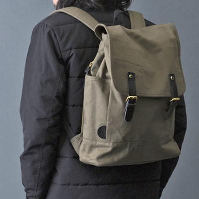 (men's) s&nd/セカンド backpack khaki (mkom003)