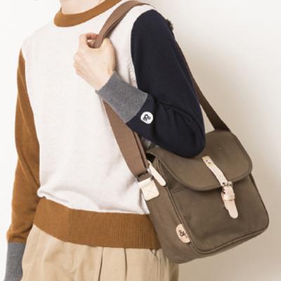 (lady's) s&nd/セカンド フラップミニショルダー brown (Lkom008)