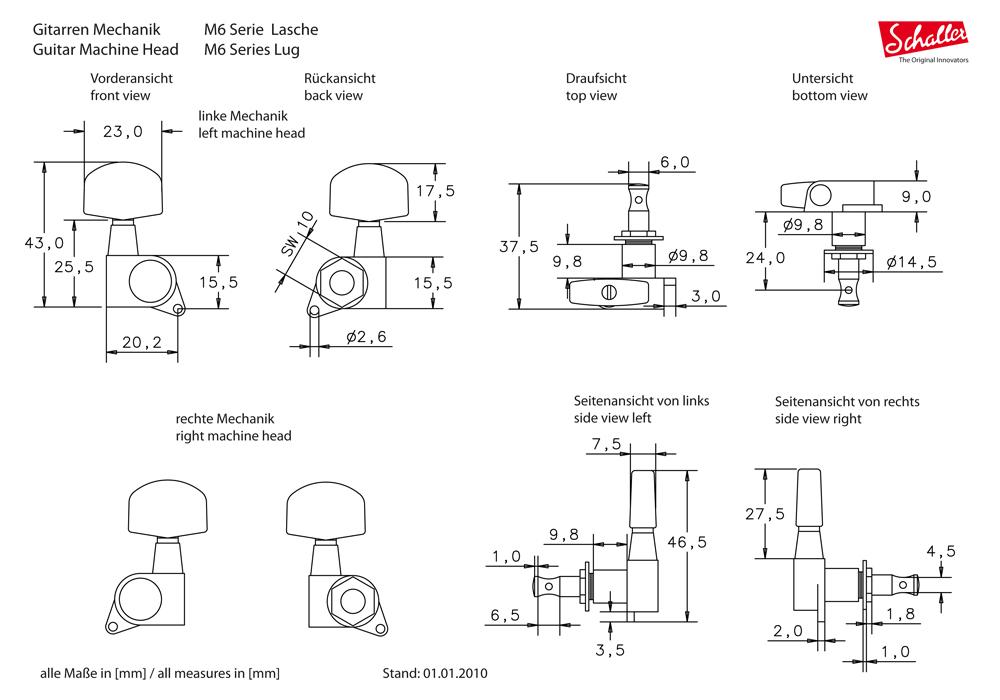 Schaller M6I図面