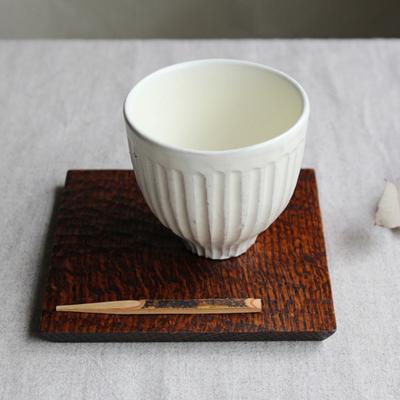 木製 コースタートレイ スクエア 拭漆 甲斐幸太郎 木の器