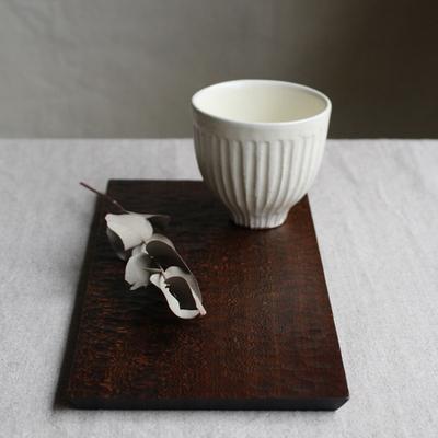 木製 角型 コースタートレイ ロング 拭漆 甲斐幸太郎 木の器