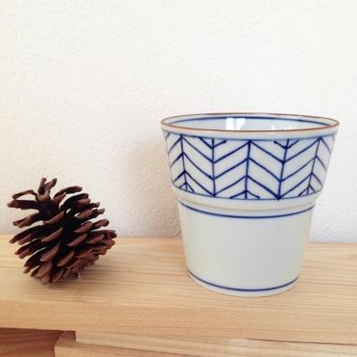 陶峰窯 フリーカップ4種 京都染付 オリジナルカップ