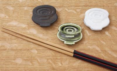 箸置き 重ね盃 器 縁起物 信楽焼