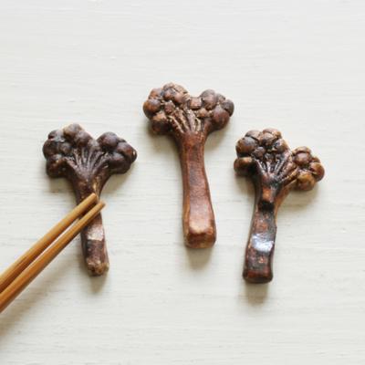 木の実 箸置き 植物 陶器 nakanaka 0128 ナチュラル おしゃれ