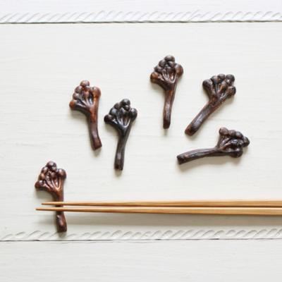木の実 箸置き 植物 陶器 nakanaka 0126