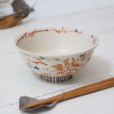 絵付け茶碗 火の花 めし碗 廣川みのり