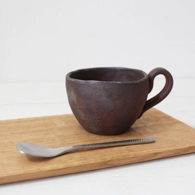手びねり コーヒーカップ 焼締 丹波焼