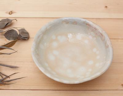 萩焼 大鉢 大皿 7寸 21cm 菓子鉢