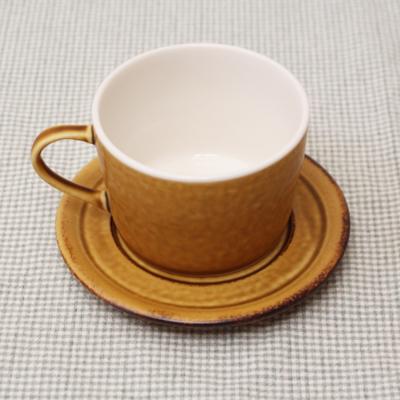 小皿 ソーサー ピコ 12cm 受け皿 黄色