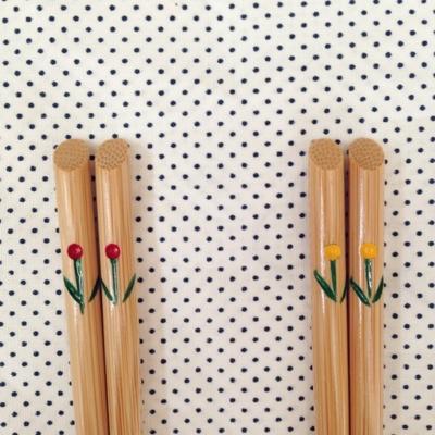 竹製チューリップ箸 子供用 竹箸 日本製