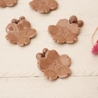 つぼみ桜 箸置き ピンク 陶器 桜の花