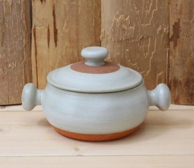 キャセロール 両手鍋 土鍋 3−4人用 煮込み鍋