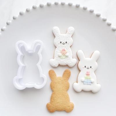 【ayari】おすわりうさぎ クッキーカッター(00353)