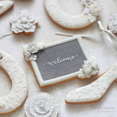 【Cookie Crumbs】お花付きプラーク クッキーカッター(00355)