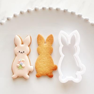 【ayari】うさぎ(正面) クッキーカッター(00352)