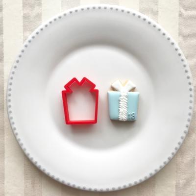ミニプレゼントのクッキーカッター(0073)