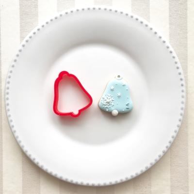 クリスマスベルのクッキーカッター(0078)