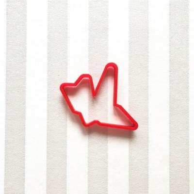 折り鶴のクッキーカッター(0088)
