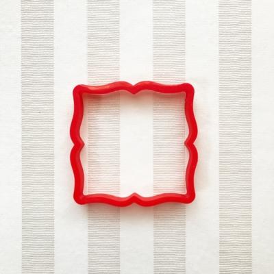 フレーム(8cm) クッキーカッター(0093)