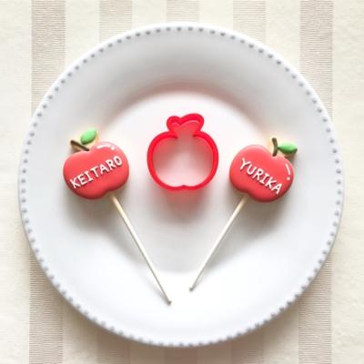 りんごのクッキーカッター(00101)