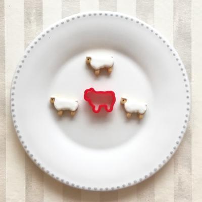 ミニ羊のクッキーカッター(00103)