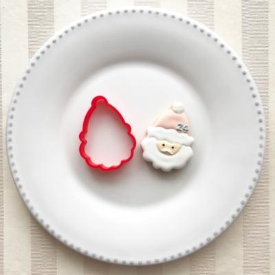 サンタのクッキーカッター(00104)