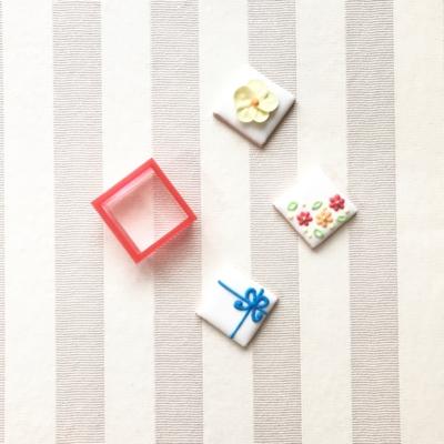 正方形・四角(3cm)のクッキーカッター(00110)