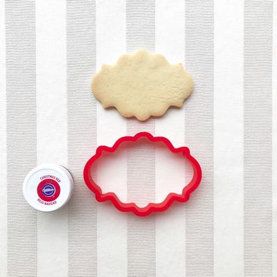 フレーム(8.5cm)のクッキーカッター(00131)