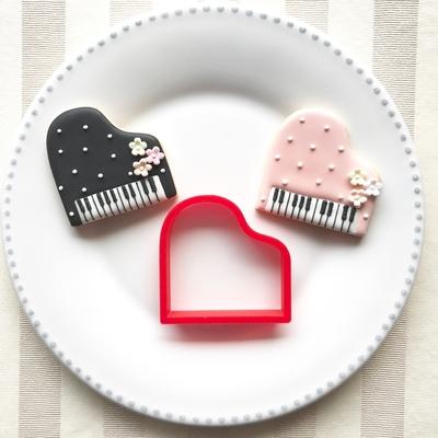 ピアノのクッキーカッター(00129)