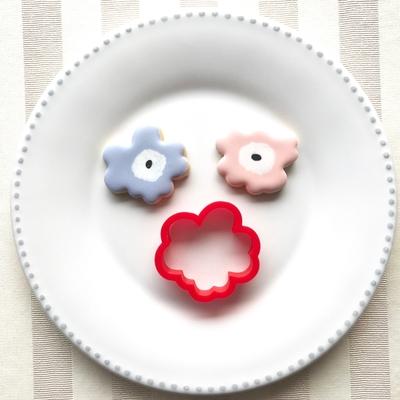 マリメッコ風お花のクッキーカッター(005)