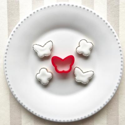 チョウのミニクッキーカッター(0014)
