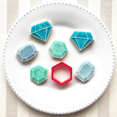 六角形 クッキーカッター(00134)