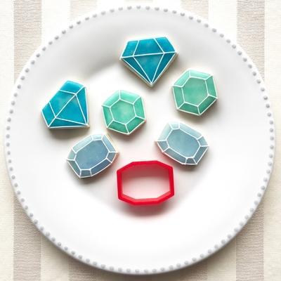 八角形ダイヤ クッキーカッター(00135)