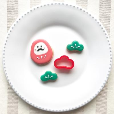 松のミニクッキーカッター(00137)
