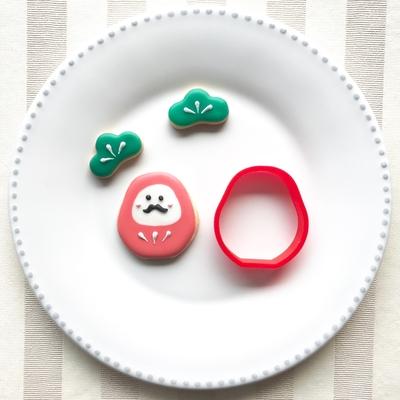 だるまのクッキーカッター(00127)