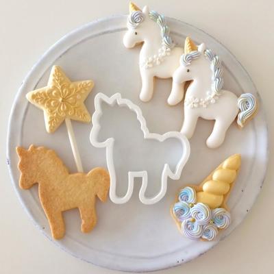 【Fiocco original】ユニコーンクッキーカッター