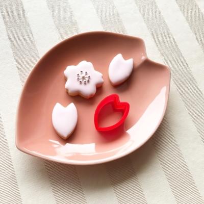 桜の花びらのクッキーカッター(0020)