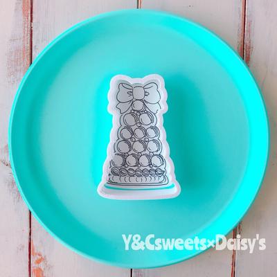 【Y&Csweets original】マカロンタワーのクッキーカッター
