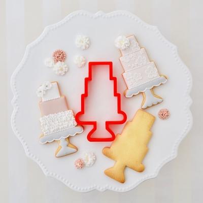 【JILL's original】三段ケーキ クッキーカッター(00158)