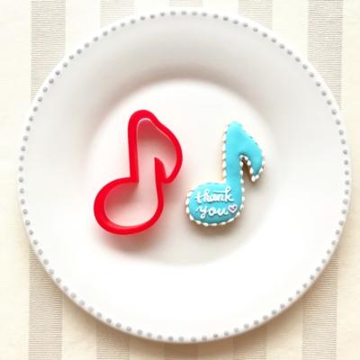 音符のクッキーカッター(0024)