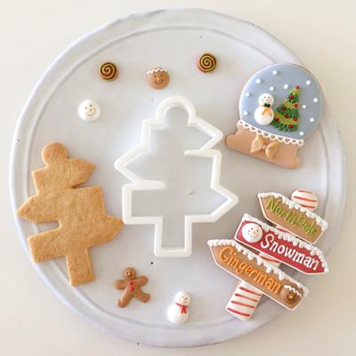 【Fiocco original】ノースポールサイン クッキーカッター(00178)