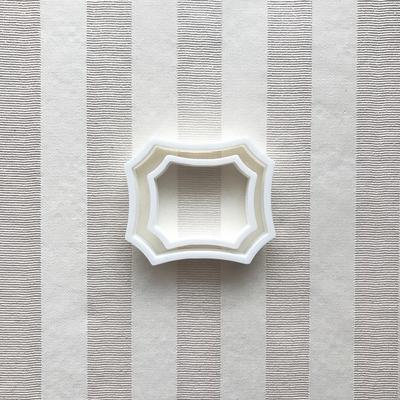 フレーム(5cm・7cm)のクッキーカッターセット(00192)