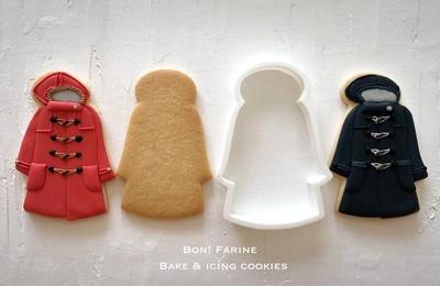 【Bon!Farine  original】ダッフルコートのクッキーカッター(00191)