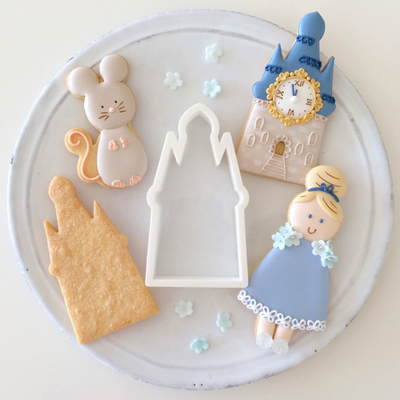 【Fiocco original】キャッスル クッキーカッター